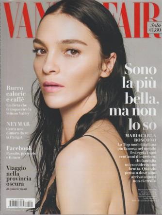 Vanity Fair - Settimanale n. 41 - 18 ottobre 2017 - Mariacarla Boscono