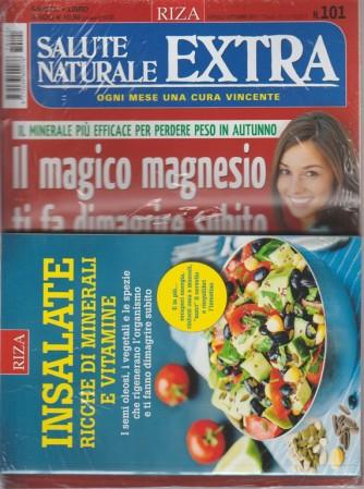 RIZA Salute Naturale Extra - mensile n. 101 Ottobre 2017 + book RIZA Insalate ...