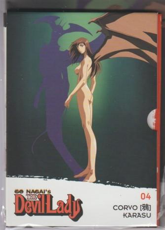 """4° DVD Go Nagai's:  The Devil Lady - """"CORVO"""" by la Gazzetta dello Sport"""