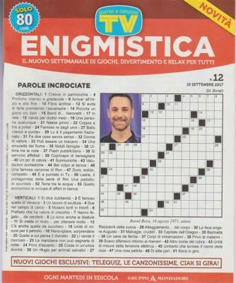 Sorrisi Enigmistica - settimanale n. 12 - 19 Settembre 2017