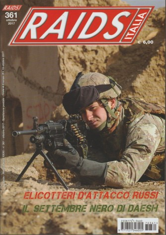 Raids Italia - mensile n. 361 Ottobre 2017