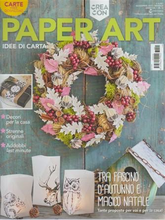 Paper Art Magazine - mensile n. 1 anno 1 - Novembre 2017 Dee di carta