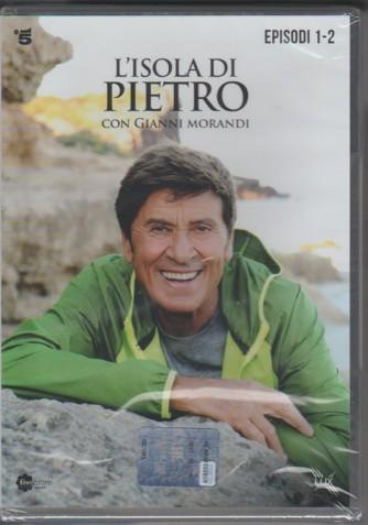 1° di 3 DVD l'Isola di Pietro - Episodi 1 e 2 - la Fiction con Gianni Morandi