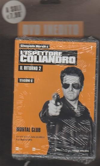 """1° DVD l'Ispettore Coliandro """"il ritorno 2"""" Stagione 6 - Mortal Club"""