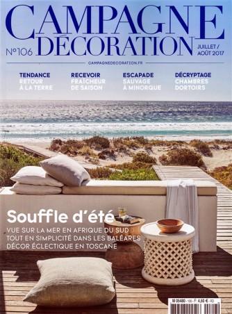 Campagne Decoration - n. 106 Luglio/Agosto 2017 in lingua francese