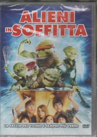 """DVD - Alieni in soffitta """"la faccia del vicino è sempre più verde"""""""