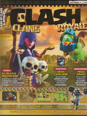 Games Village bimestrale n. 15 Novembre 2017 - Clash of Clans & Royale
