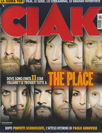 CIAK - mensile n. 11 Novembre 2017 - The place