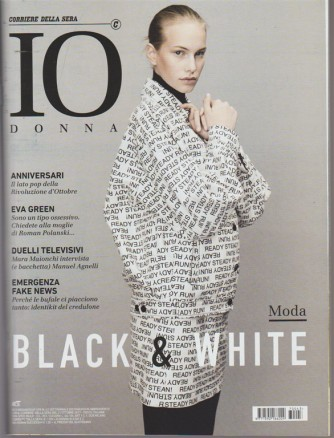 Io Donna-settimanale n.43 allegato Corriere della Sera di Sabato 21 Ottobre2017