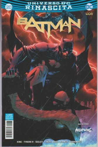 BATMAN 20 (133) - Universo DC Rinascita - DC Comics Lion