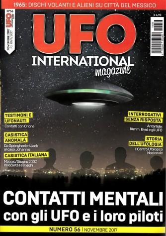 Ufo International Magazine - mensile n. 56 Novembre 2017 - Contatti Mentali ...