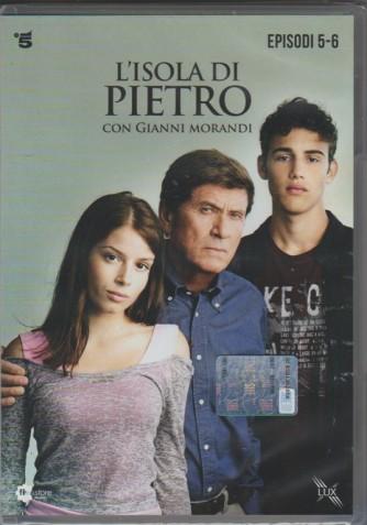 3° di 3 DVD l'Isola di Pietro - Episodi 5 e 6 - la Fiction con Gianni Morandi