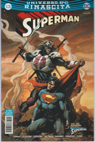 SUPERMAN (128) 13 - DC Comics Lion