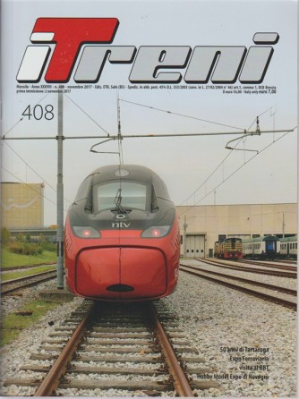 i Treni - mensile n. 408 Novembre 2017