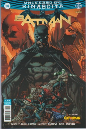BATMAN (127) 14 - DC Comics Lion