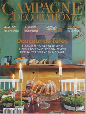 Campagne Decoration - mensile ed.francese n. 80 Novembre 2017 - Douceur de fetes