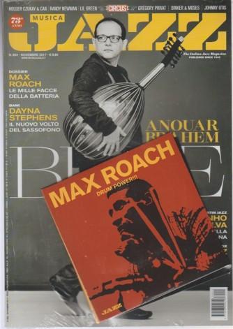 Musica Jazz - mensile n. 804 Novembre 2017 ed.Italiana + CD Max Roach