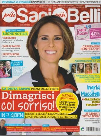 Più Sani più Belli Magazine - mensile n. 84 Novembre 2017 - dimagrisci col sorriso