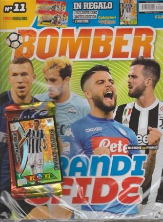 Panini Football Magazines: Bomber - mensile n. 11 Novembre 2017