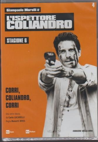 4° DVD l'Ispettore Coliandro Stagione 6 - Corri, Coliandro, corri