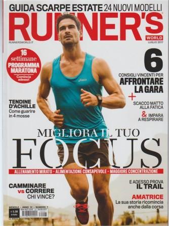 Runner's World - mensile n. 7 Luglio 2017 - Tendine d'Achille come guarire