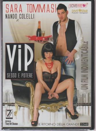 DVD XXX - VIP sesso e potere - Sara Tommasi & Nando Colelli diretto da Tony del Duomo