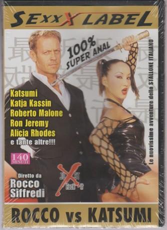 DVD XXX - Rocco vs Katsumi - diretto da Rocco Siffredi - 100% super anal