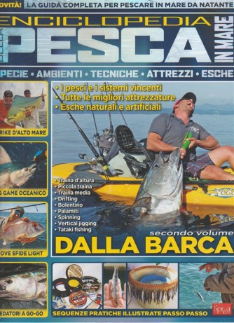 Enciclopedia della pesca in mare by Sprea editori - Dalla Barca - 2° volume