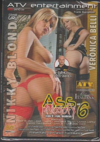"""DVD XXX-Ass philosofy vol.6""""il lato B8...il più...desiderato""""di Frank Barrymore"""