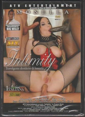 """DVD XXX - Intimity """"Travolgente desiderio di lussuria""""- un film di Franco Avon"""