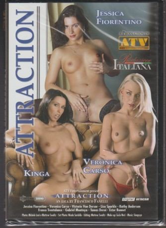 DVD XXX - Attraction - diretto da Franco fanelli - produzione italiana