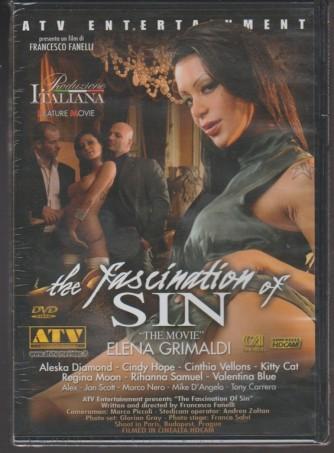 DVD XXX - the fashination of SIN -un film Francesco Fanelli- Produzione Italiana