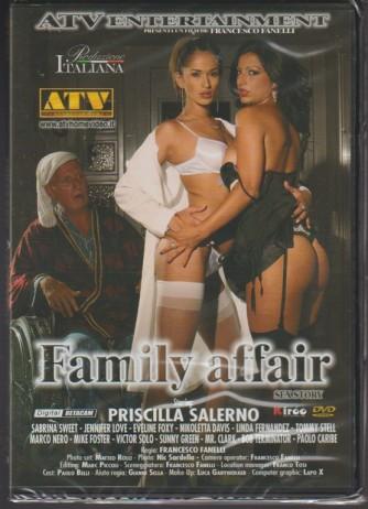 DVD XXX - Family affair - un film di Francesco Fanelli - produzione italiana