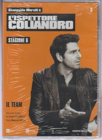 3° DVD l'Ispettore Coliandro Stagione 6 - il Team