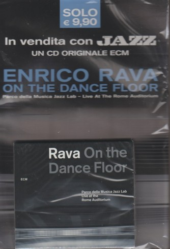 CD - Enrico Rava: On the dance floor -Parco della musica Jazz Lab By Musica JAZZ