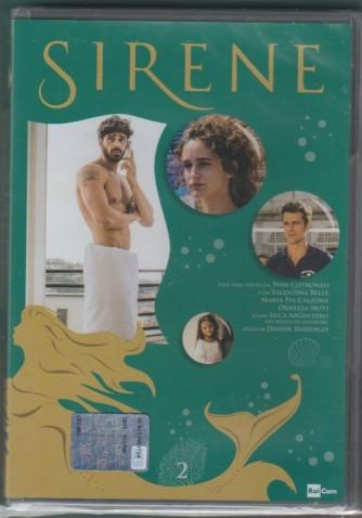 2° di 6 DVD -  Sirene - serie ideata da Ivan Cotronero per la TV - regia di DAvide Marengo