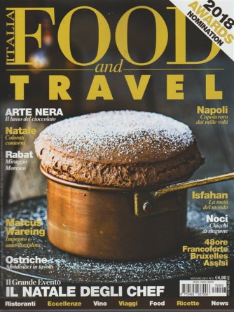 Food and Travel Italia - mensile n. 3 Novembre 2017 - Natale: colorati contorni