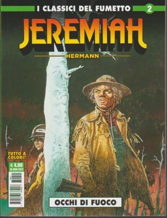 """Cosmo Serie Verde - I Classici del Fumetto - Jeremiah n.2 """"Occhi di fuoco"""""""