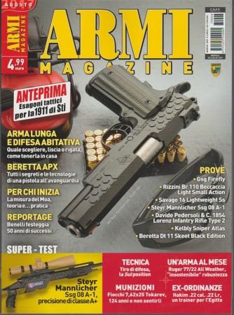 Armi Magazine - mensile n. 8 Agosto 2017 - Esagoni tattici per la 1911 di Sti