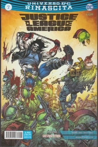 JUSTICE LEAGUE AMERICA 7(45) - Universo DC Rinascita - DC Comics Lion