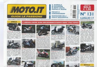 Moto.It -  mensile n. 131 Luglio 2017 -  Oltre 1000 occasioni