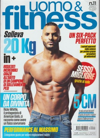 Uomo & Fitness - bimestrale n. 11 Agosto 2017 - Ub Six-pack pefetto