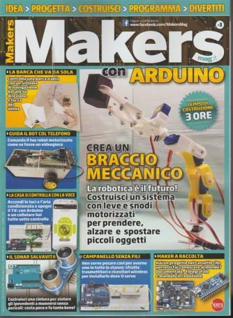 Makers Mag - bimestrale n. 3 Dicembre 2017 con Arduino