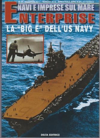 """Navi e Imprese sul mare - Enterprise la """"BIG E""""dell'US Navy di Alessio Sgarlato"""