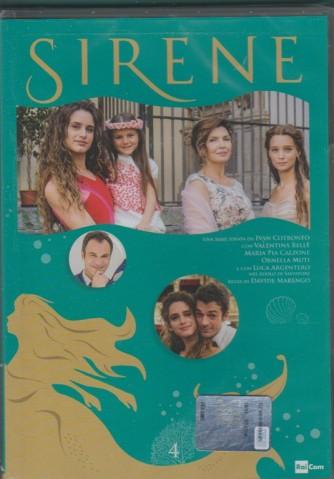 4° di 6 DVD -  Sirene - serie ideata da Ivan Cotronero per la TV - regia di DAvide Marengo