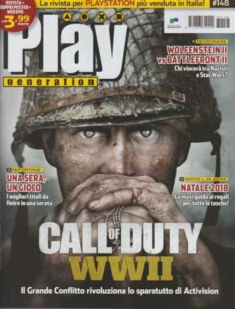 Play Generation - mensile n.13(148) Dicembre 2017 Call of duty WWII