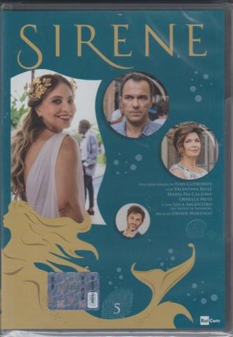5° di 6 DVD -  Sirene - serie ideata da Ivan Cotronero per la TV - regia di DAvide Marengo