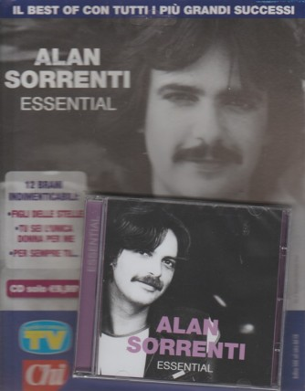 CD - Alan Sorrenti Essential - by Sorrisi e canzoni TV