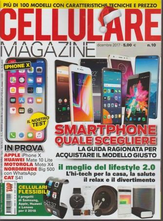 Cellulare Magazine - mensile n. 10 Dicembre 2017 Smatphone quale scegliere