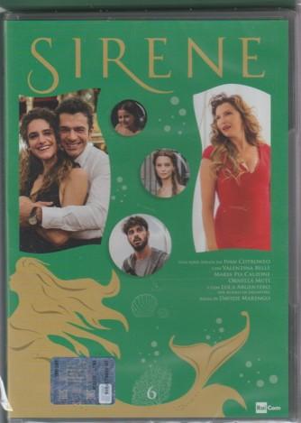 6° di 6 DVD -  Sirene - serie ideata da Ivan Cotronero per la TV - regia di Davide Marengo